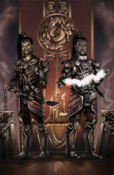 Death Lords of the orient 7: The Twins by MoonshineDeluxe