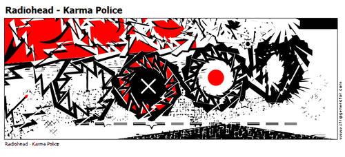 Radiohead - Karma Police by PE-robukka