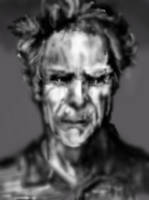 Clint Eastwood portrait by PE-robukka
