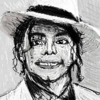 Michael Jackson portrait by PE-robukka