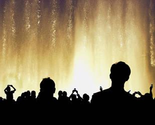 The Dubai Fountain Show by MARX77