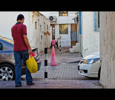 Pink Traffic Cone by MARX77