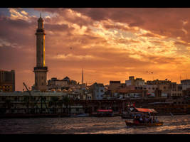 Dubai Creek by MARX77