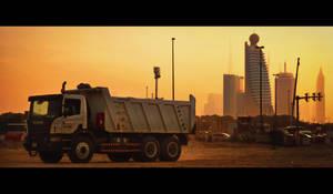 Sandstorm City by MARX77