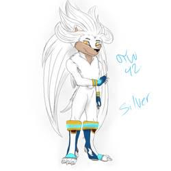 Silver (Anthro) by TimeWalker42