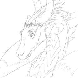 Dragon WIP by TimeWalker42