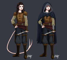 Madani the Rogue by thisnerddoodles