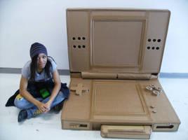 Cardboard DSlite by HimeNoKage