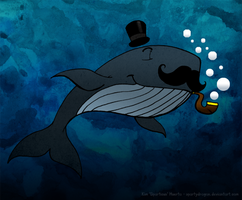 A Most Dapper Whale by spartydragon