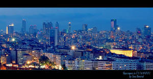 Istanbul Skyscrapers by sinademiral