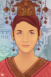 Prinsesa ng Timog Silangan by kurtmorrisrojas