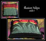 Illusion Tulips 1 by MuseSusan