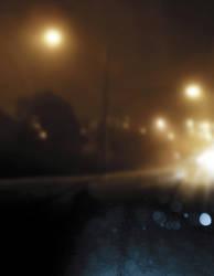 Roadside lighting by nighthawk101stock