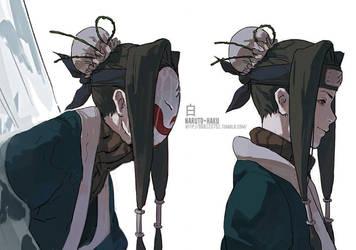 NARUTO- Haku by fisher903
