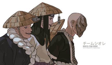 NARUTO- Team Shiore by fisher903