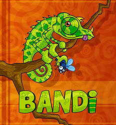 Bandi Chameleon by kasbandi