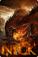Dragon avatar by kasbandi