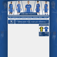 Chelsea Fanatics webdesign v1 by kasbandi
