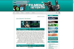 Filmek es Jatekok Blog design by kasbandi