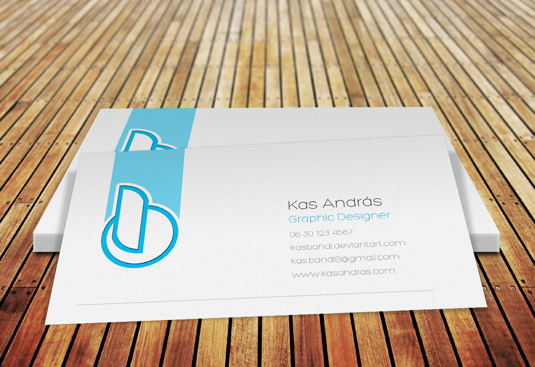 Bandi Business card mock up design by kasbandi