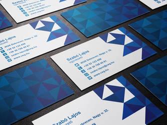 Szabo Lajos Business Card by kasbandi