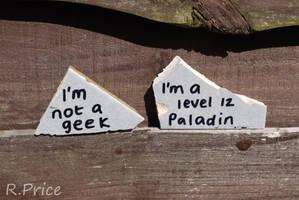 Geek? Me? by Rhiallom