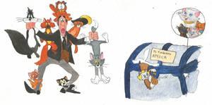45th anniversary of The Aristocats by brazilianferalcat