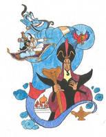 Aladdin by brazilianferalcat