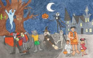Happy Halloween by brazilianferalcat