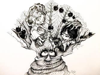 APPLE TREE by Wutherdollshadow