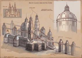 La Revolution. 1625. Rich Class Architecture 2 by dsorokin755