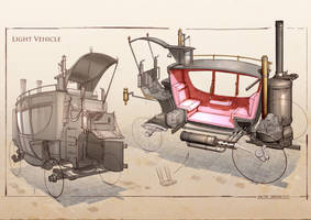 La Revolution 1625 Light Vehicle by dsorokin755