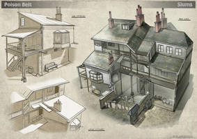 Poison Belt. Slums Architecture by dsorokin755