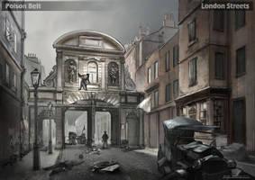 Poison Belt. London Streets 1 by dsorokin755