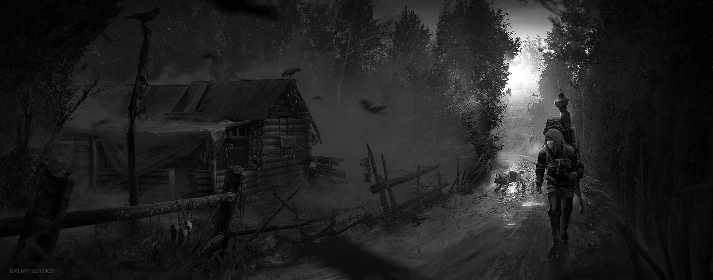 Raven Cult - Approaching the Village by dsorokin755