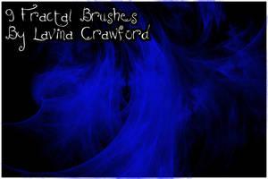 .:9 Fractal Brushes :. by LavinaStock