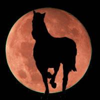 moon runner by gayleneallgood