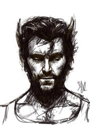 Wolverine sketch by ChristyTortland