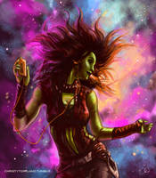 Gamora - Hooked on a Feeling by ChristyTortland