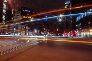 Oslo at night by Gamekiller48
