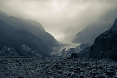 Franz Josef Glacier by TrollDuNord
