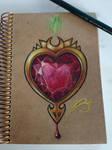 Damaged heart by azuh