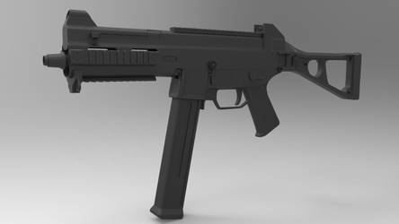 High Poly - HK UMP45 by Vasilesco