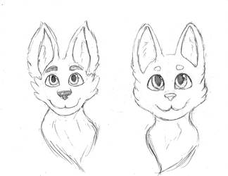 Furry headshots by SlickClaw