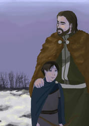 Ned and Jon by InTheArmsOfUndertow