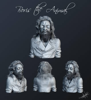 Boris The Animal by aroche