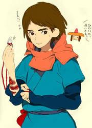 Ashitaka by blue-cube