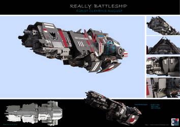 Battleship  Clemens August by MASCH-ART