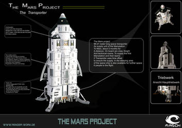 The Mars-Transporter by MASCH-ART