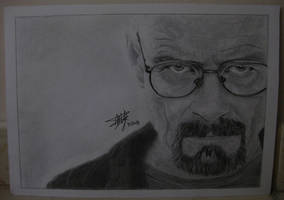 Heisenberg -Walter White by Cola-Addicted